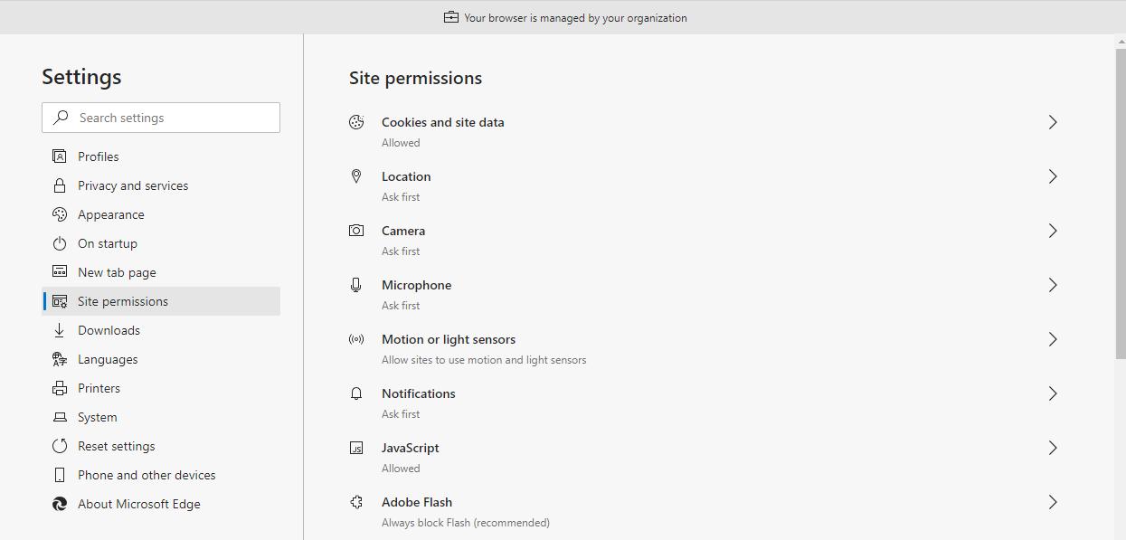 DigitalHire Edge Site Permissions