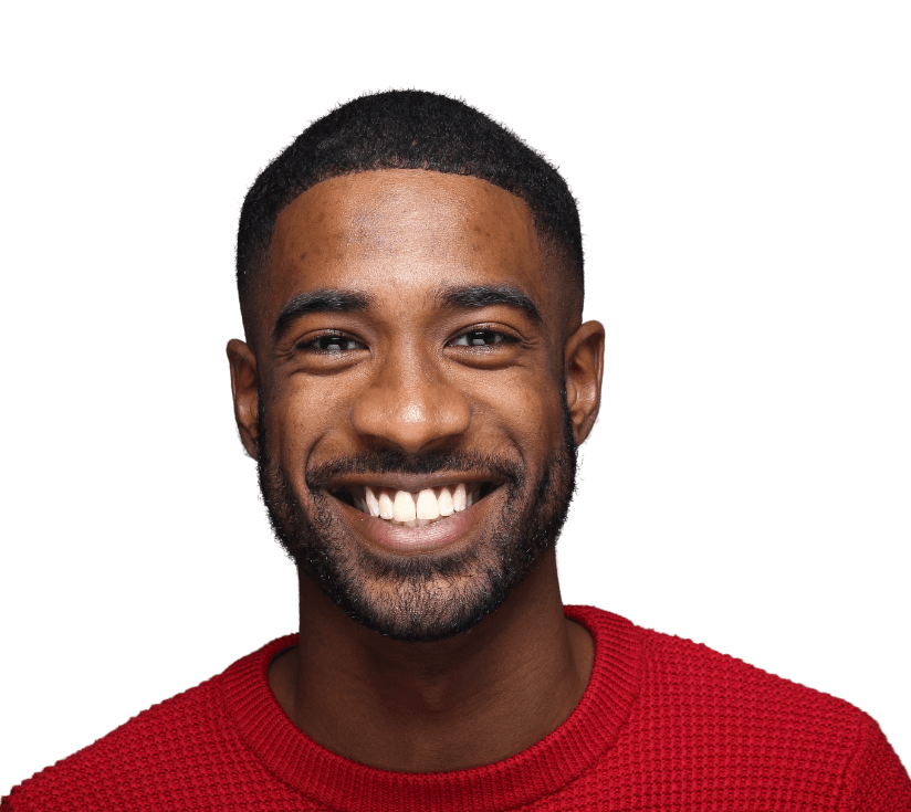 Smiling person looking at the camera FAQs